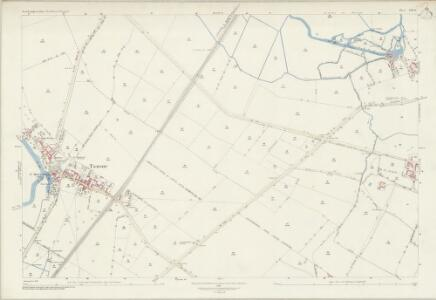 Northamptonshire XIII.14 (includes: Cotterstock; Tansor; Warmington) - 25 Inch Map