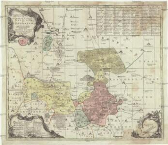 Praefecturae principatus querfurtensis Dahmiana et Iüterboccensis cum vicinia oppidis, vicis, pagis accurate distincta