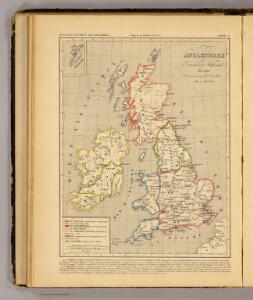 Angleterre, Ecosse & Irlande en 900.