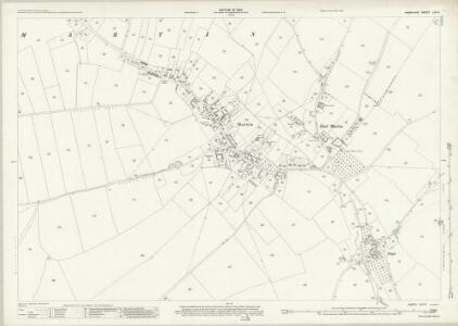 Hampshire and Isle of Wight LIVA.8 (includes: Martin) - 25 Inch Map