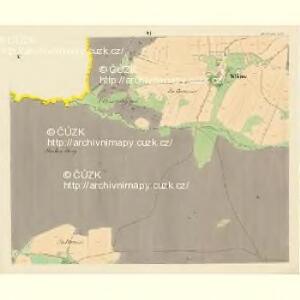 Dobrzegitz - c1204-1-006 - Kaiserpflichtexemplar der Landkarten des stabilen Katasters