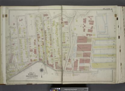 Part of Ward 1. [Map bound by Fort PL, St. Marks PL   (Tompkins Ave), Hyatt St, Borough PL (South St), Bulkhead Line, Arrietta St,     Richmond Turnpike, Westervelt Ave (Oak St), Hendricks Ave (5th Ave), Sherman     Ave]