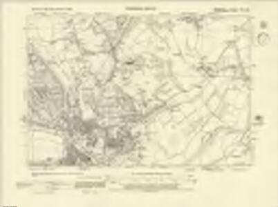 Berkshire XXIX.SE - OS Six-Inch Map