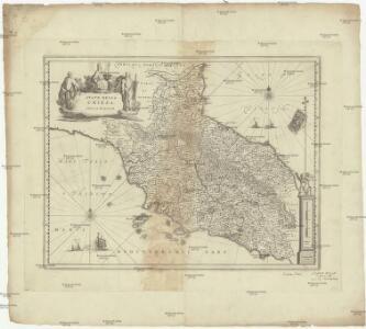 Stato della Chiesa, con la Toscana