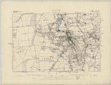 Warwickshire LVII.NW - OS Six-Inch Map